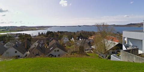 Turer i boligområder gir mange flotte opplevelser, slik som her på Grannes.