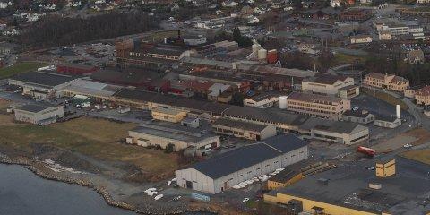 Scana ønsket at deler av dagens stålverksområde, det som ligger nærmest sjøen, skulle reguleres til sentrumsformål. (Arkivfoto: John Sandvik)