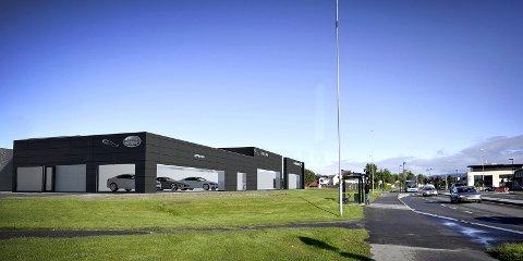 OPPGRADERES: Autostrada på Nenset oppgraderer bygget for å bli et senter for Jaguar og Land Rover.