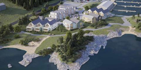 NYTT BOLIGFELT: Et nytt sjønært boligfelt skal reise seg på Salen.