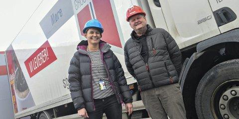 Familieeid: Datter Katrine Monge tok over som daglig leder for TP-Engros i mai 2015. Einar Monge kjøpte hele selskapet i 2007, og har jobbet i bedriften i over 30 år.