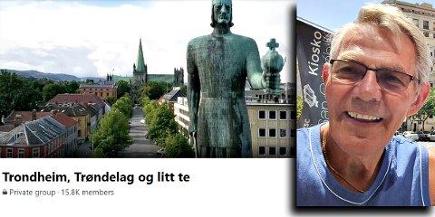 Kjell Vårvik grunnla Facebook-gruppen som i dag har 15.800 medlemmer. Nå venter han spent på om aurgjellingene vil være en del av Trøndelag.