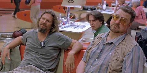 THE DUDE: Denne noe vindskeive gjengen blir å treffe i filmklubben fredag kveld.