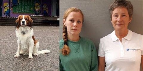 HENSYN: Kjersti Jeanette Thoresen og  regionssekretær i NAAF Østafjells, Ellen Sørby, mener at skoler må ta hensyn til allergikere og ikke ha dyr inn i skolen.