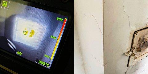 Pipebrannen tok knekken på pipa i boligen på Ra i Horten.