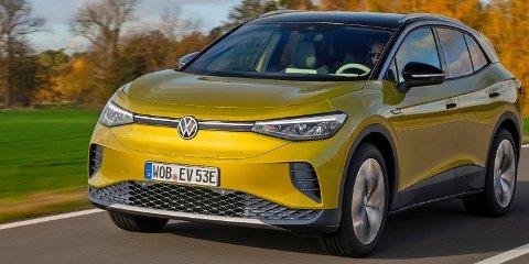 POPULÆR: Volkswagen ID.4 har en sterk start og seiler opp som personbilen med flest registreringer i april.