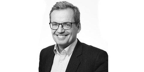 Jon Håvard Solum, banksjef i Grong Sparebank