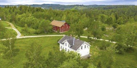 Arven etter Maj: Denne gården var en av to gårder Maj Svalastog overlot til Guds menighet på Vegårshei og fire andre menigheter da hun døde.