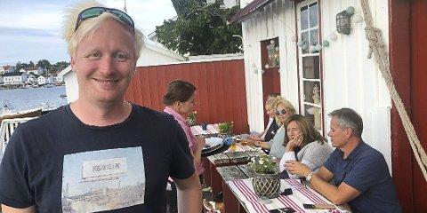 Håper på sommer i Lyngør: Espen Nylende er en av driverne av Seilmakerfruens Kro.