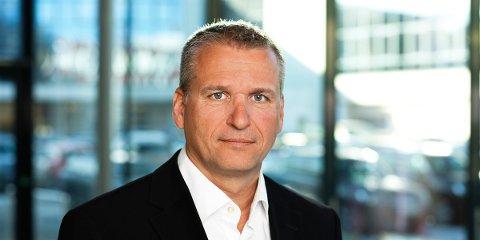 SER STORE UTFORDRINGER: Møller Mobility Group og konsernsjef Terje Male ser store utfordringer i tiden som kommer. Det har blitt et høyere marginpress på brukte biler, og kostnadene øker grunnet introduksjon av ny teknologi og opplæring i dette hos forhandlerne.