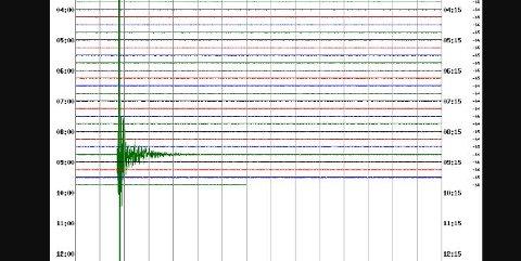 Skjelvet målte 3,8 på Richters skala. Noe som er sjelden i Norge.