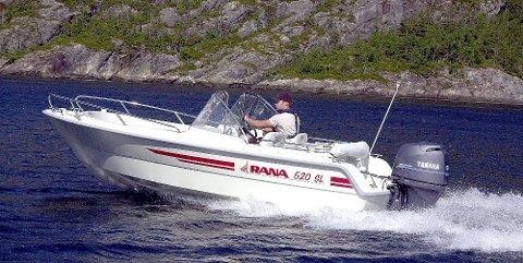 FULL TILBAKEKALLING: Alle Rana-båtar blir no tilbakekalt av produsenten Rana Plast etter pålegg frå Sjøfartsdirektoratet.