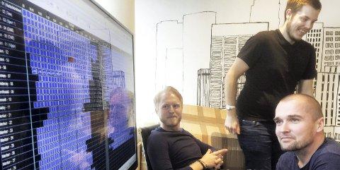 I MÅL: Stian Torp (til venstre), Steinar Graarud og Lars Olsen er tilfredse med spilleplanen for årets cup som starter den 13. mai. Foto: Vidar Henriksen