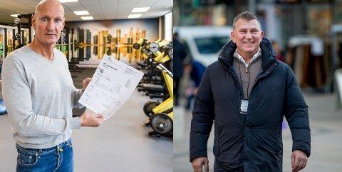 Atle Martinsen og Dick Hansson er fornøyde med meldingen om at deres selskaper nå kan få korona-støtte.