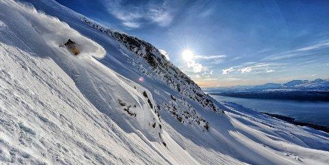 Narvik får en solid dose skryt på det svenske nettstedet «Snösäker»