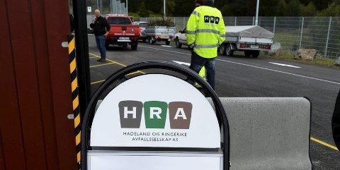 Onsdag 27. april er det generalforsamling i Hadeland og Ringerike Avfallsselskap.