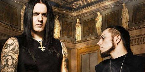 SATYRICON: Sigurd Wongraven (til venstre) og hans Satyricon spiller på Tons of Rock i 2017.