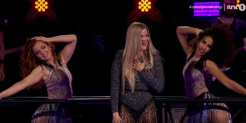 Sandra Lyng leverte nok en gang på scenen, og er nå klar for finalen i Stjernekamp.
