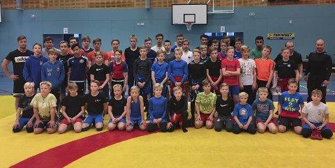 Kirkenes Atletklubb sammen med finske brytere på brytestevne i Sodankylä i Finland i helga.