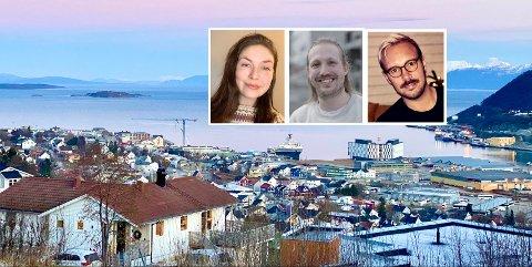SKRIV TIL OSS! iHarstads journalister Marte Fredly-Steen, Simen Loholt og Eirik Hågensen er klar til å legge ut din mening på nettsida.