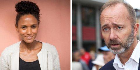 Artisten og TV-stjernen Haddy Njie gir full støtte til sin samboer Trond Giske, som etter flere uker med anklager om seksuell trakassering trakk seg som nestleder i Ap søndag kveld.