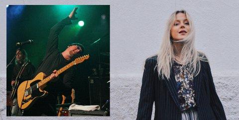 FAR OG DATTER: Steffen Nicolaisen har frontet Nickels & Dimes i 30 år, men nå kommer datteren Mathea etter  med egen og helt annen form for musikk.