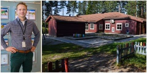 FORTSATT TIL SALGS: Næringsmegler John Anders Mohn Gaustad har jobben med å selge tidligere Bakkebygrenda barnehage.