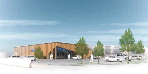 Coop vil bygge ny butikk på maks 1200 kvadratmeter i Dr. Munks gate i Hovenga.Butikken planlegges like ved rundkjøringa på fylkesvei 32.