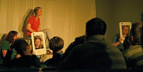 Treffer: Tilbakemeldingen er at stykket treffer  elevene med sitt budskap.