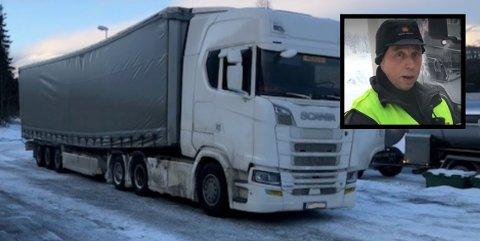 NØDVENDIG: Åge Røilid i Statens vegvesen forteller at det absolutt er et behov at de har tungbilkontroller.