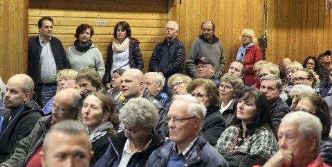 FOLKET HAR TALT: Dette bildet er fra folkemøtet på Auli i oktober.