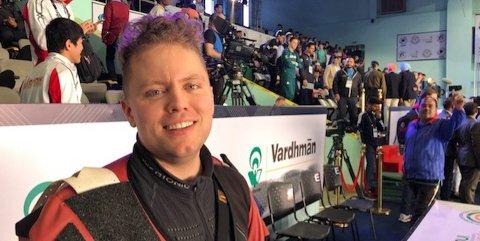 MÅ BLI HJEMME: Simon Kolstad Claussen og resten av det norske skytterlandslaget reiser ikke til India for å konkurrere.