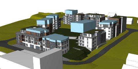HAR EN PLAN:REAS har lagt fram en plan for utbygging av kvartalet som grenser til Teglen, Teglverksveien, Industriveien og Gamle Drammensvei.