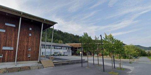 SMITTE: Borge skole er rammet av korona.