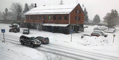 LAVER NED: Vinteren er her, hvis noen skulle være i tvil.