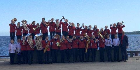 Midtun Skoles Musikkkorps stakk av med seieren i NM.