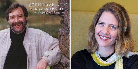 Kari Merete Krogh hyller visesangeren Stein Ove Berg