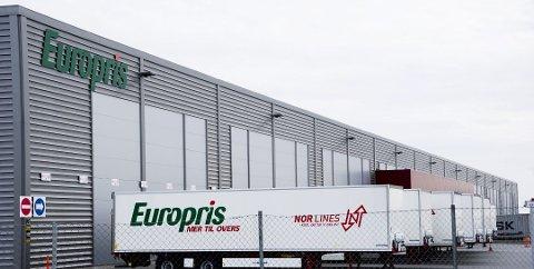 FLYTTER: Europris flytter lagervirksomheten fra Fredrikstad til Moss.