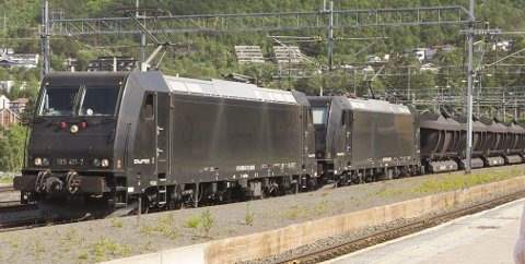 Mer malm: I dag kommer det to tog i døgnet med Kaunis-malm til Narvik Havns malmhavn på Fagernes. Dette kan komme til å øke til fem, ifølge havnedirektør Rune Arnøy.