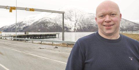 Vil ha handling nå: Det vi kan gjøre på kort sikt er å flytte E6 innover i fjorden og samle fergekapasitetene der. Dyrt blir det heller ikke, sier Tor Asgeir Johansen. Foto: Terje Næsje