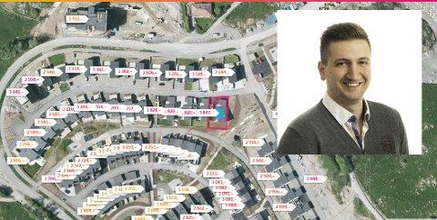 Adi Tafro oppdaget feilen da han så at han betalte mye mer i eiendomsskatt enn det naboene gjorde, til tross for at naboenes boliger var identiske eller større.