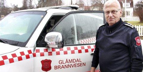 NY STASJON: Både Kongsvinger og Flisa får ny brannstasjon. Nå ser det ut til at Grue får ny stasjon, og at Gressbanen blir tatt i bruk. Brannsjef Per Ivar Bekk mener dette er det beste alternativet.