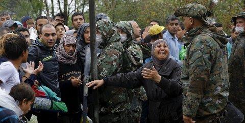 MILLIONER PÅ FLUKT: 11,7 millioner syrere er drevet på flukt. Foto: Reuters