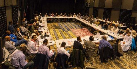 I BLACK BOX: Over 60 representanter fra 30 ulike moskeer har diskutert integrering og andre viktige temaer denne helga.