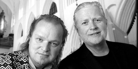 VANG: Iver Kleive og Knut Reiersrud skal holde konsert i Vang kirke under festivalen.