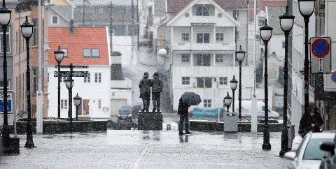 Paraplyvær i vente resten av uka. Arkivfoto: Terje Størksen
