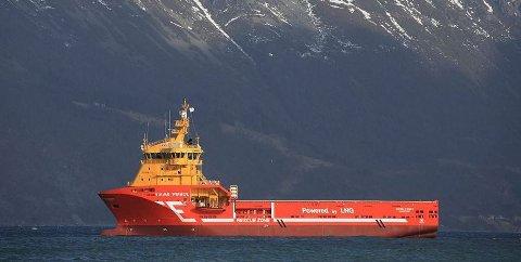 NY KONTRAKT: Forsyningsskipet Viking Prince er tildelt en kontrakt fra Statoil.