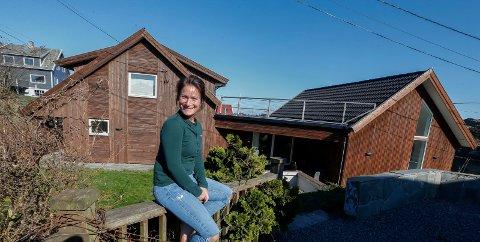 Karmøy 1204 2019 Victoria Freihow har kjøpt nytt hus før det gamle er solgt. Foreldre hjelper til som kausjonister når de trenger mellomfinansiering