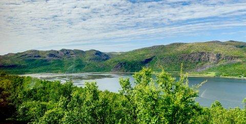 IKKE OVER: Statsmeteorologen forteller at det vil bli litt kaldere og dårligere vær til uka, men at sommeren er langt fra over. Dette bildet er tatt på tur over Ifjordfjellet.