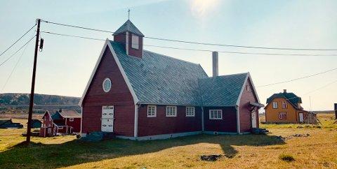 70 ÅR: Hamningberg kapell ble 70 år i juni i år. 1. juli holdes en jubileumsgudstjeneste.